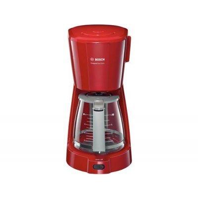 Кофеварка Bosch TKA3A034 красный (TKA3A034)Кофеварки Bosch<br>Кофеварка капельная Bosch TKA3A034 красный 1100Вт<br>