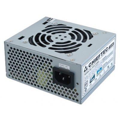 Блок питания ПК Chieftec SFX-350BS 350W (SFX-350BS)Блоки питания ПК Chieftec<br>Блок питания  Chieftec 350W OEM SFX-350BS [Smart] SFX, v2.3,  A.PFC, КПД&amp;gt;85%, 2x SATA, 2x MOLEX, Fan<br>