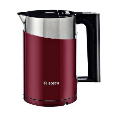 Электрический чайник Bosch TWK861P4RU (TWK861P4RU)Электрические чайники Bosch<br>чайник<br>объем 1.5 л<br>мощность 2400 Вт<br>закрытая спираль<br>установка на подставку в любом положении<br>корпус из стали и пластика<br>ненагревающийся корпус<br>выбор температуры нагрева воды<br>индикация включения<br>