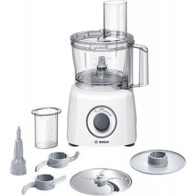 Кухонный комбайн Bosch MCM 3100 W (MCM3100W)Кухонные комбайны Bosch<br>комбайн<br>мощность 800 Вт<br>объем чаши 2.30 л<br>компактное хранение насадок<br>