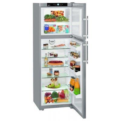 Холодильник Liebherr CTPesf 3316-22 001 (CTPesf 3316-22 001)Холодильники Liebherr<br>холодильник с морозильником<br>    отдельно стоящий<br>    двухкамерный<br>    класс A++<br>    морозильник сверху<br>    общий объем 312 л<br>    ручка с толкателем<br>    капельная система<br>