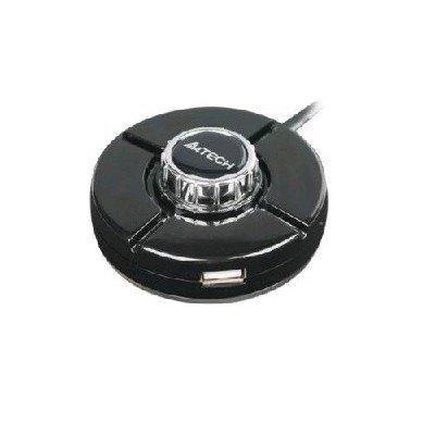 USB концентратор A4Tech HUB-66 (HUB-66 (BLACK))
