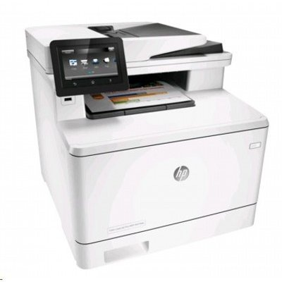 Цветной лазерный МФУ HP Color LaserJet MFP M477fdn (CF378A)Цветные лазерные МФУ HP<br>(p/s/c/f,A4,600dpi,27(27)ppm,2 trays 50+250,Duplex,ADF 50 sheets,TouchScreen,USB/GigEth, 1y warr, 4 cart. in box)<br>