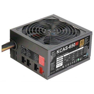 Блок питания ПК Aerocool KCAS-650M 650W (4713105953497) блок питания aerocool retail kcas 750m 750w 4713105953503