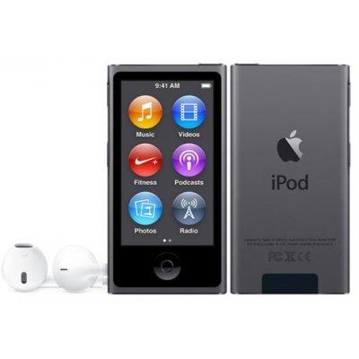 Цифровой плеер Apple iPod nano 7 16Gb серый (MKN52RU/A)