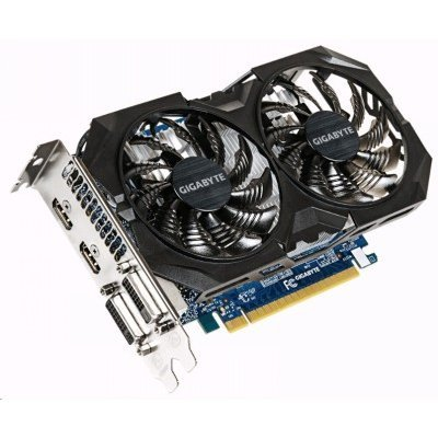 Видеокарта ПК Gigabyte GeForce GTX 750 Ti 1059Mhz PCI-E 3.0 2048Mb 5400Mhz 128 bit 2xDVI 2xHDMI HDCP (GV-N75TOC2-2GI)Видеокарты ПК Gigabyte<br>Видеокарта Gigabyte PCI-E GV-N75TOC2-2GI nVidia GeForce GTX 750Ti 2048Mb 128bit GDDR5 1033/5400 DVIx1/HDMIx2/HDCP Ret<br>