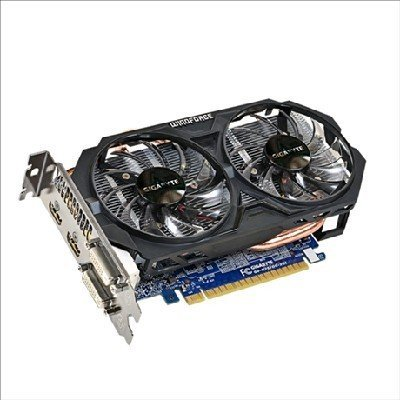 Видеокарта ПК Gigabyte GeForce GTX 750 Ti 1033Mhz PCI-E 3.0 2048Mb 5400Mhz 128 bit 2xDVI 2xHDMI HDCP (GV-N75TOC-2GI)Видеокарты ПК Gigabyte<br>Видеокарта Gigabyte PCI-E GV-N75TOC-2GI nVidia GeForce GTX 750Ti 2048Mb 128bit GDDR5 1033/5400 DVIx1/HDMIx2/HDCP Ret<br>