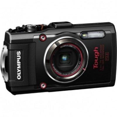 Цифровая фотокамера Olympus TG-4 черный (TG-4/Black)