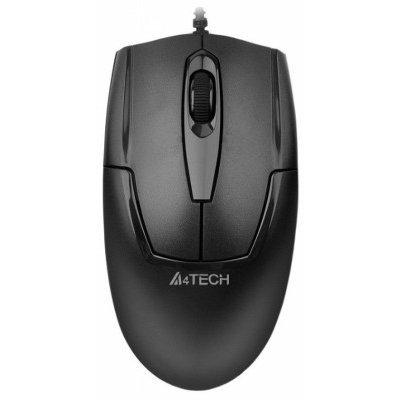 Мышь A4Tech OP-540NU Black USB (OP-540NU)Мыши A4-Tech<br>Мышь A4 V-Track Padless OP-540NU черный оптическая (1000dpi) USB (2but)<br>