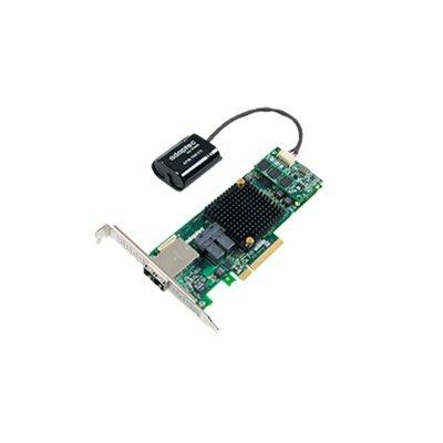 Контроллер RAID Adaptec ASR-8885Q (2277100-R)Контроллеры RAID Adaptec<br>Контроллер Adaptec ASR-8885Q SGL RAID 0/1/1E/10/5/6/50/60, 8i 8e ports, 1Gb (2277100-R)<br>