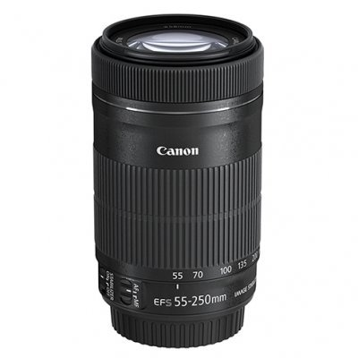 Объектив для фотоаппарата Canon EF-S 55-250mm f/4-5.6 IS STM (8546B005)