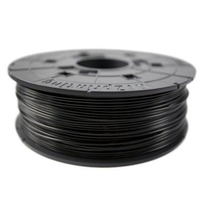 Пластик PLA XYZ Заправ. комплект PLA катушка 600 г, черный (RFPLBXEU00H) (RFPLBXEU00H)Пластик PLA XYZ<br>Длина 240 мм, для da Vinci<br>