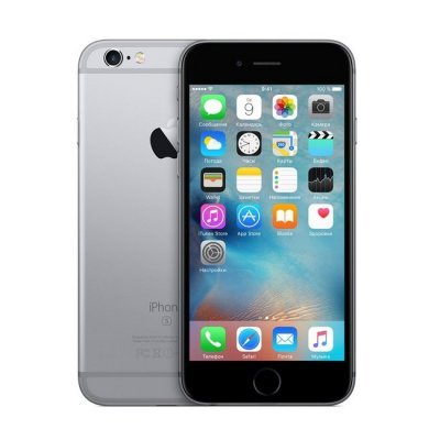 Фото Смартфон Apple iPhone 6s 128Gb (MKQT2RU/A) Space Gray (Серый космос)
