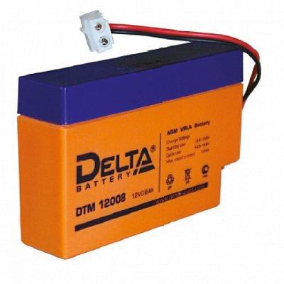 Аккумуляторная батарея для ИБП Delta DTM 12008 (DTM 12008)Аккумуляторные батареи для ИБП Delta<br><br>