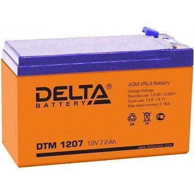 Аккумуляторная батарея для ИБП Delta DTM 1207 (DTM 1207)