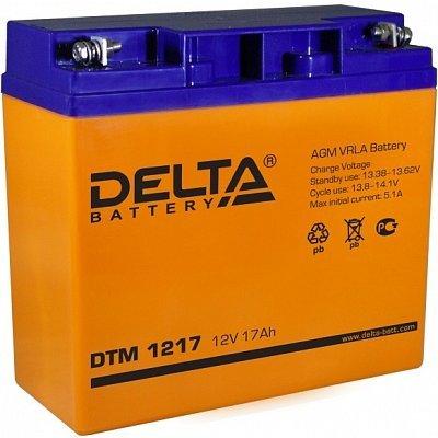 Аккумуляторная батарея для ИБП Delta DTM 1217 (DTM 1217)Аккумуляторные батареи для ИБП Delta<br><br>