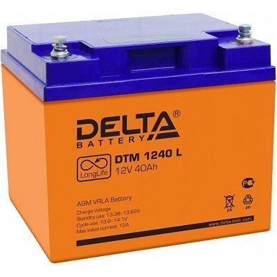 Аккумуляторная батарея для ИБП Delta DTM 1240 L (DTM 1240 L)Аккумуляторные батареи для ИБП Delta<br><br>