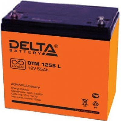 Аккумуляторная батарея для ИБП Delta DTM 1255 L (DTM 1255 L)Аккумуляторные батареи для ИБП Delta<br><br>