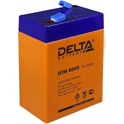 Аккумуляторная батарея для ИБП Delta DTM 6045 (DTM 6045)Аккумуляторные батареи для ИБП Delta<br><br>