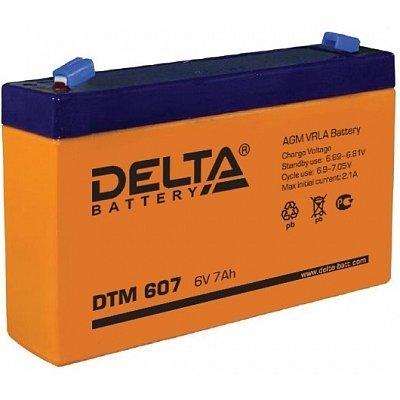 Аккумуляторная батарея для ИБП Delta DTM 607 (DTM 607)