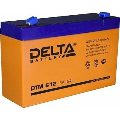 Аккумуляторная батарея для ИБП Delta DTM 612 (DTM 612)