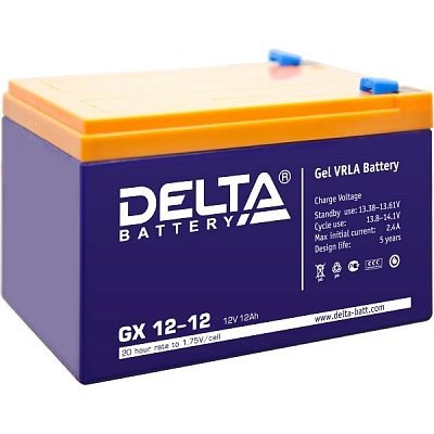 Аккумуляторная батарея для ИБП Delta GX 12-12 (GX 12-12)