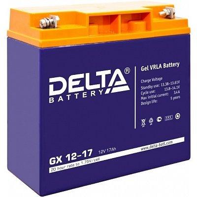Аккумуляторная батарея для ИБП Delta GX 12-17 (GX 12-17)