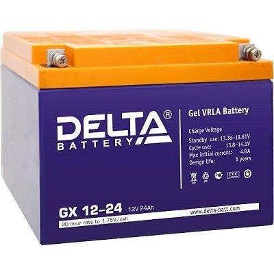 Аккумуляторная батарея для ИБП Delta GX 12-24 (GX 12-24)