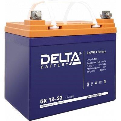 Аккумуляторная батарея для ИБП Delta GX 12-33 (GX 12-33)Аккумуляторные батареи для ИБП Delta<br><br>