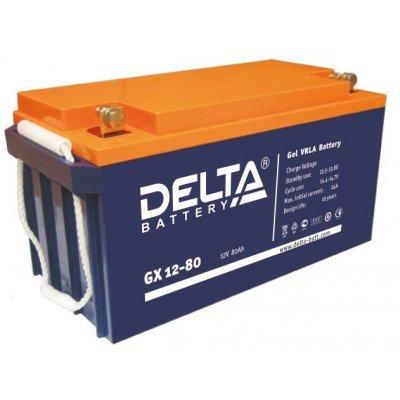 Аккумуляторная батарея для ИБП Delta GX 12-80 (GX 12-80)Аккумуляторные батареи для ИБП Delta<br><br>