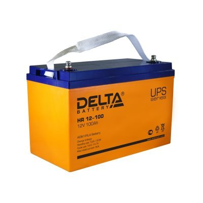 Аккумуляторная батарея для ИБП Delta HR12-100 (HR12-100) аккумуляторная батарея для ибп delta hr 12 28w hr 12 28 w
