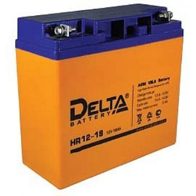 Аккумуляторная батарея для ИБП Delta HR12-18 (HR12-18)Аккумуляторные батареи для ИБП Delta<br><br>