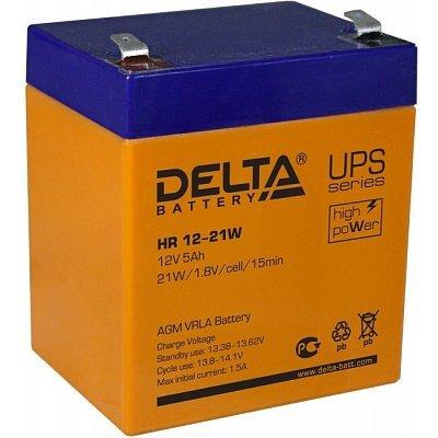 Аккумуляторная батарея для ИБП Delta HR12-21W (HR12-21W) аккумуляторная батарея для ибп delta hr 12 28w hr 12 28 w