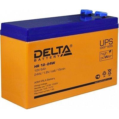 Аккумуляторная батарея для ИБП Delta HR12-24W (HR12-24W) аккумуляторная батарея для ибп delta hr 12 28w hr 12 28 w