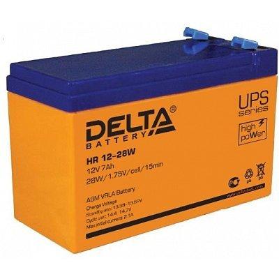 Аккумуляторная батарея для ИБП Delta HR12-28W (HR12-28W) аккумуляторная батарея для ибп delta hr 12 28w hr 12 28 w