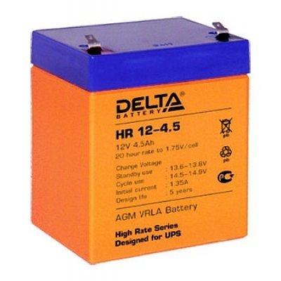 Аккумуляторная батарея для ИБП Delta HR12-4.5 (HR12-4.5)Аккумуляторные батареи для ИБП Delta<br><br>