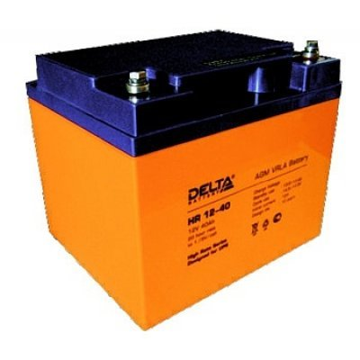Аккумуляторная батарея для ИБП Delta HR12-40 (HR12-40)Аккумуляторные батареи для ИБП Delta<br><br>