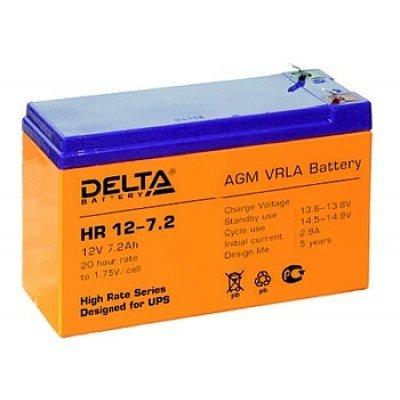 Аккумуляторная батарея для ИБП Delta HR12-7.2 (HR12-7.2) аккумуляторная батарея для ибп delta hr 12 28w hr 12 28 w