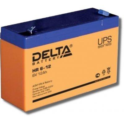 Аккумуляторная батарея для ИБП Delta HR6-12 (HR6-12)Аккумуляторные батареи для ИБП Delta<br><br>