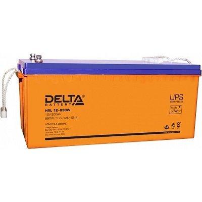 Аккумуляторная батарея для ИБП Delta HRL 12-890W (200Ah) (HRL 12-890W (200Ah))Аккумуляторные батареи для ИБП Delta<br><br>