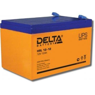 Аккумуляторная батарея для ИБП Delta HRL12-12 (HRL12-12)Аккумуляторные батареи для ИБП Delta<br><br>