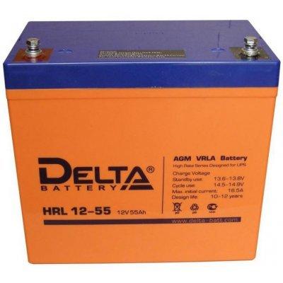 Аккумуляторная батарея для ИБП Delta HRL12-55 (HRL12-55)Аккумуляторные батареи для ИБП Delta<br><br>