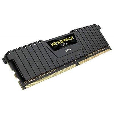 Модуль оперативной памяти ПК Corsair CMK8GX4M1A2666C16 8Gb DDR4 (CMK8GX4M1A2666C16)Модули оперативной памяти ПК Corsair<br>Память DDR4 8Gb 2666MHz Corsair CMK8GX4M1A2666C16 RTL PC3-21300 DIMM 288-pin 1.2В<br>