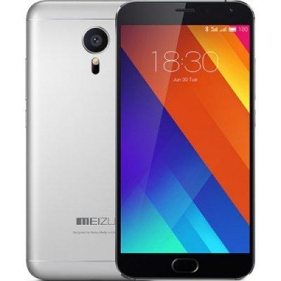 Смартфон Meizu MX5 16Gb черный/серебристый (M575H 16Gb Gray/Black)Смартфоны Meizu<br>смартфон, Android 5.0<br>    поддержка двух SIM-карт<br>    экран 5.5, разрешение 1920x1080<br>    камера 20.70 МП, автофокус<br>    память 16 Гб, без слота для карт памяти<br>    3G, 4G LTE, Wi-Fi, Bluetooth, GPS, ГЛОНАСС<br>    аккумулятор 3150 мАч<br>    вес 149 г, ШxВxТ 74.70x149.90x7.60 мм<br>