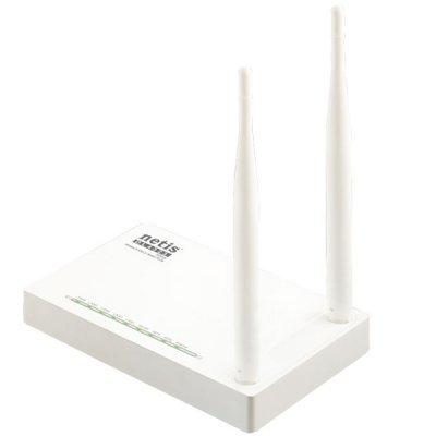 Wi-Fi xDSL точка доступа (роутер) Netis DL-4323 (DL4323) маршрутизатор netgear d7800 100pes беспроводной гигабитный dsl vdsl vdsl2 adsl adsl2 и adsl2 модем роутер ac2600 802 11ac 800 1733 мбит с 2 4