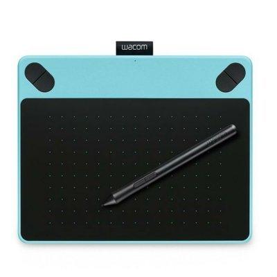 Графический планшет Wacom Intuos Art Blue PT S цвет мятно-голубой (CTH-490AB-N) (CTH-490AB-N)Графические планшеты Wacom<br><br>