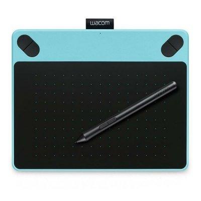 Графический планшет Wacom Intuos Draw Blue Pen S цвет мятно-голубой (CTL-490DB-N) (CTL-490DB-N)Графические планшеты Wacom<br><br>