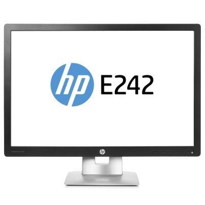 Монитор HP 24 EliteDisplay E242 (M1P02AA) монитор 22 hp elitedisplay e222 ips led 1920x1080 7ms vga displayport