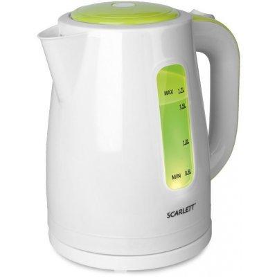 Электрический чайник Scarlett SC-EK18P27 (SC-EK18P27)Электрические чайники Scarlett<br>чайник, объем 1.7 л, мощность 1850 - 2200 Вт, закрытая спираль, установка на подставку в любом положении, пластиковый корпус, индикация включения<br>