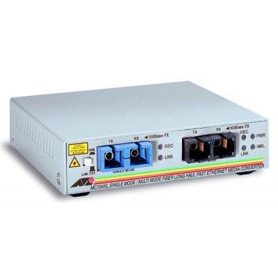 цена на Медиаконвертер Allied Telesis AT-MC104XL-60 100FX(SC) multi-mode to 100FX(SC) single-mode (15km) (AT-MC104XL-60)